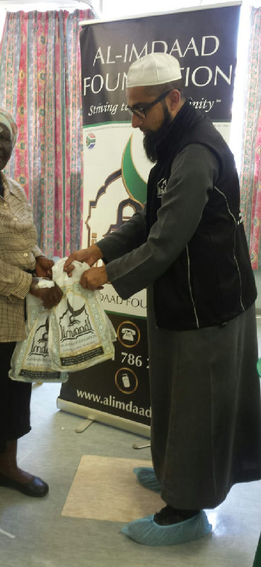 The Al-Imdaad Foundation sponsored lenses and medical consumables and also provided snack packs for the patients in attendance