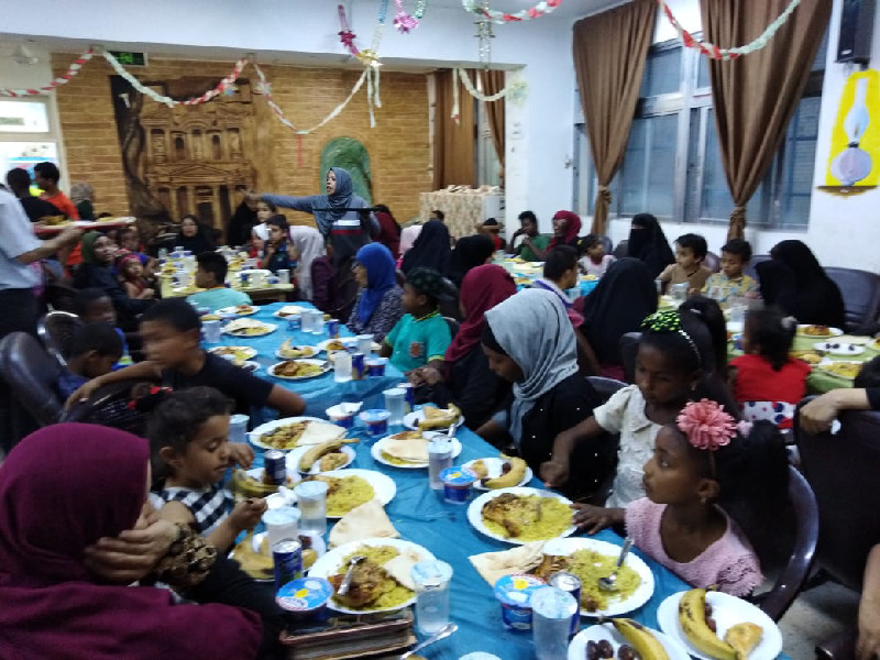 An iftaar programme for Palestinian orphan children helps to foster the joy of the occasion